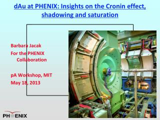 dAu  at PHENIX: Insights on the Cronin effect, shadowing and saturation