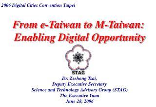 From e-Taiwan to M-Taiwan: