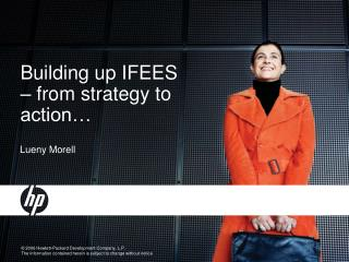 Building up IFEES   from strategy to action