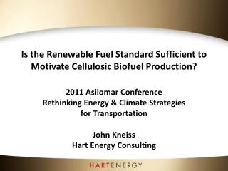 Is the Renewable Fuel Standard Sufficient to Motivate Cellulosic Biofuel Production?