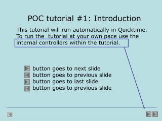 POC tutorial #1: Introduction