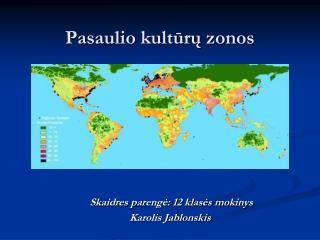 Pasaulio kultūrų zonos