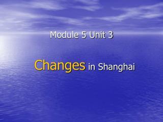 Module 5 Unit 3