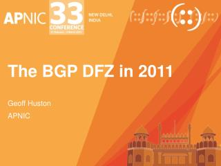 The BGP DFZ in 2011