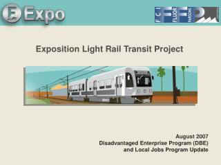 Exposition Light Rail Transit Project