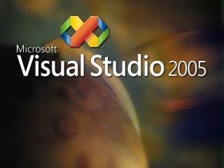 "Visual Studio 2005 "" Produktivita na míru """