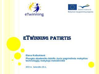 eTwinning patirtis