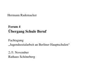 Hermann Rademacker
