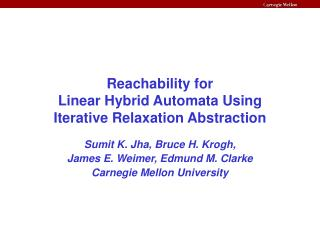 Reachability for  Linear Hybrid Automata Using  Iterative Relaxation Abstraction