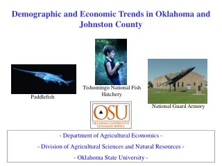 Demographic and Economic Trends in Oklahoma and Johnston County