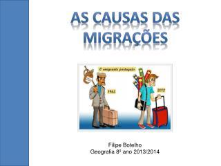 As causas das migrações