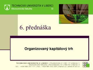 6. přednáška
