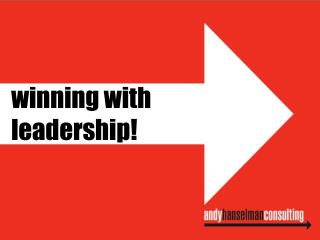 winning with  leadership!