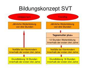 Bildungskonzept SVT