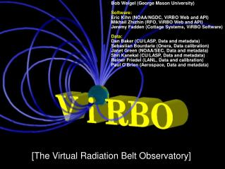 [The Virtual Radiation Belt Observatory]