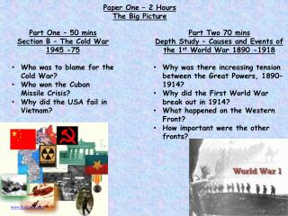 Lesson Objectives To know what is meant by containment  To understand the context behind the Cuban Missile Crisis  To be