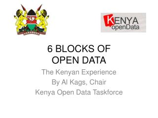 6 BLOCKS OF  OPEN DATA
