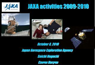 JAXA activities 2009-2010
