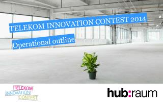 TELEKOM INNOVATION CONTEST 2014