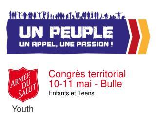 Congrès territorial 10-11 mai - Bulle
