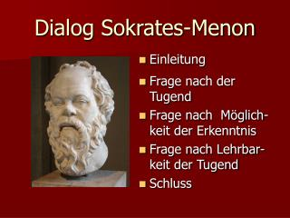 Dialog Sokrates-Menon