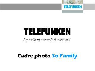 Cadre photo  So Family