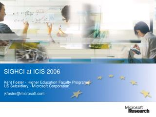 Microsoft Research - History