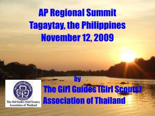 AP Regional Summit Tagaytay, the Philippines November 12, 2009 by