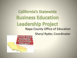 California's Statewide  Business Education Leadership Project