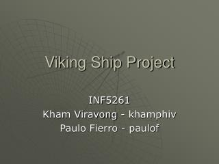 Viking Ship Project