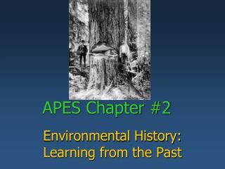 APES Chapter #2
