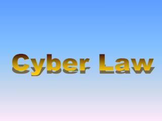 Cyber Law