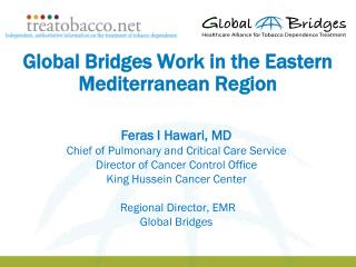 Global Bridges Work in the Eastern Mediterranean Region