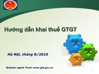 Website ng�nh Thu?: gdt.vn