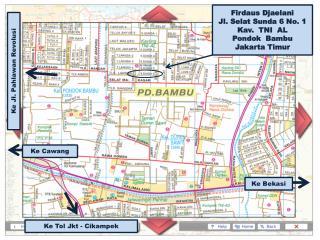 Firdaus Djaelani Jl. Selat Sunda 6 No. 1 Kav.  TNI  AL Pondok  Bambu Jakarta Timur