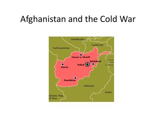 Afghanistan and the Cold War