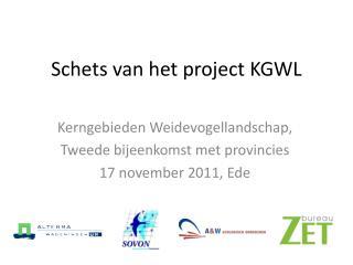 Schets van het project KGWL