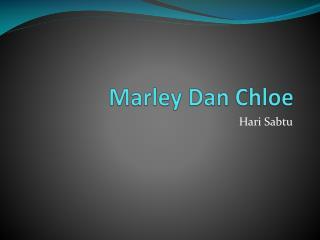 Marley Dan Chloe