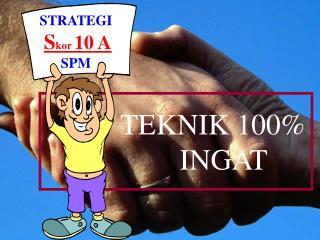 STRATEGI S kor  10 A SPM