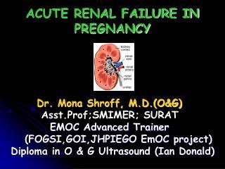 ACUTE RENAL FAILURE IN PREGNANCY