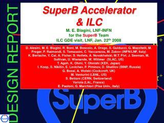 SuperB: a  10 36  cm -2  s -1  accelerator