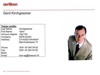 Gerd Kirchgessner