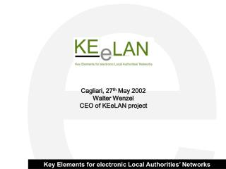 Key Elements for electronic Local Authorities' Networks