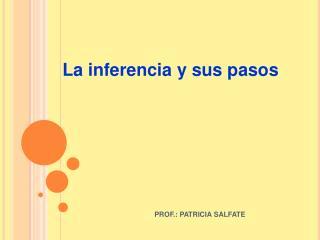 PROF.: PATRICIA SALFATE
