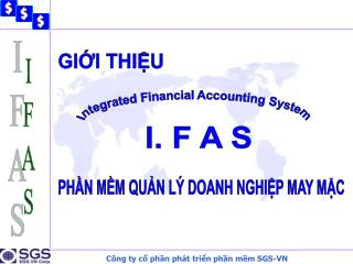 Integrated Financial Accounting System