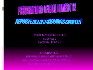 PREPARATORIA OFICIAL NUMERO 72