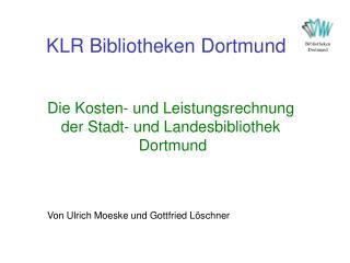 KLR Bibliotheken Dortmund