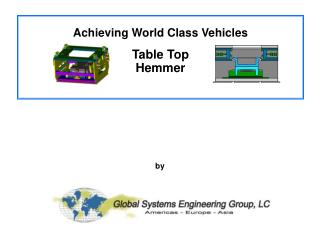 Achieving World Class Vehicles with Agile Fabrication Systems for