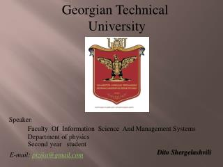 Georgian Technical  University