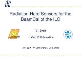 Radiation Hard Sensors for the BeamCal of the ILC